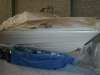 20' Bayliner 205 masked & in Primer