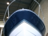 Bayliner 205 Hull pin stripe applied