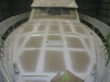 60 Foot Vitech post Fibreglass repairs and GelCoat respray